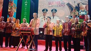 MAKASSAR- Gubernur Buka Pemeran Pembangunan Sulsel Expo 2019