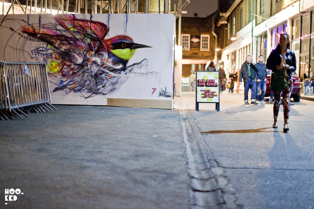 Brazilian Street Artist L7M London Mural