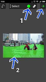 cara merubah warna air di android