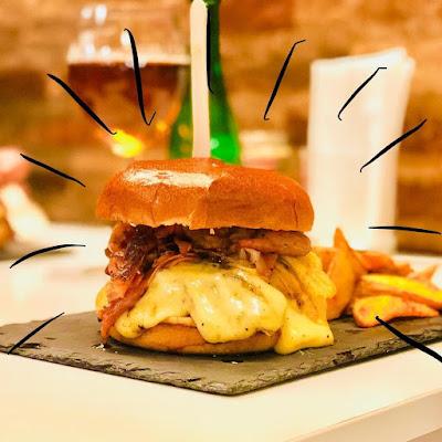 Hamburguesa de Berny's Burger en Valencia