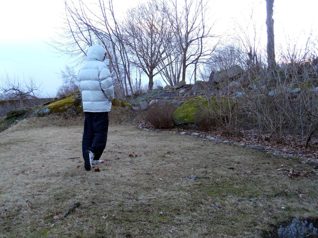 22 febbraio in giardino