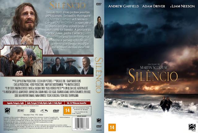 Capa DVD Silêncio