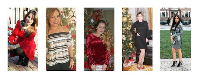 Mari Estilo- Latina Bloggers: Alicia, de Alicia Borchard, Fernanda de Cook And Move , Yoly de MakeupByYolyy, Karoll de MakeupCityPop y Alejandra de Tu Fashion Petite
