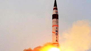 Spotlight:  Agni 5 Successfully Flight Tested