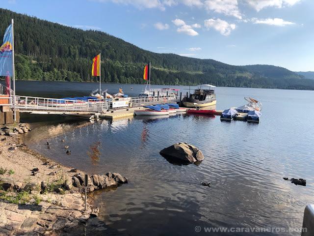 Lago Titisee |Alsacia y Selva Negra en autocaravana