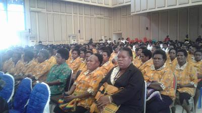 Retreat Akbar DPP KINGMI Papua dan Papua Barat telah Dibuka Secara Resmi oleh Bupati Kabupaten Mimika