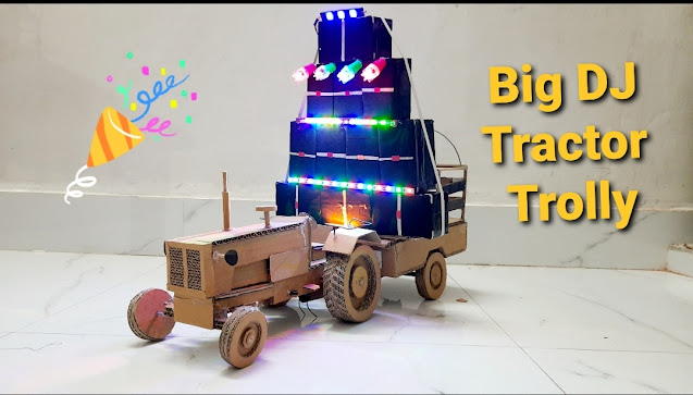 how to make Big DJ Truck at home | tech toyz videos