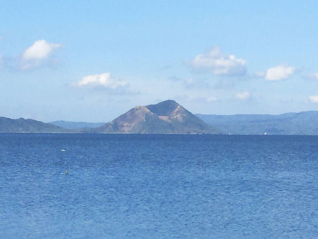 Mt. Binintiang Malaki in Taal Lake