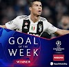 Ronaldo wins UEFA Champions League goal of the week