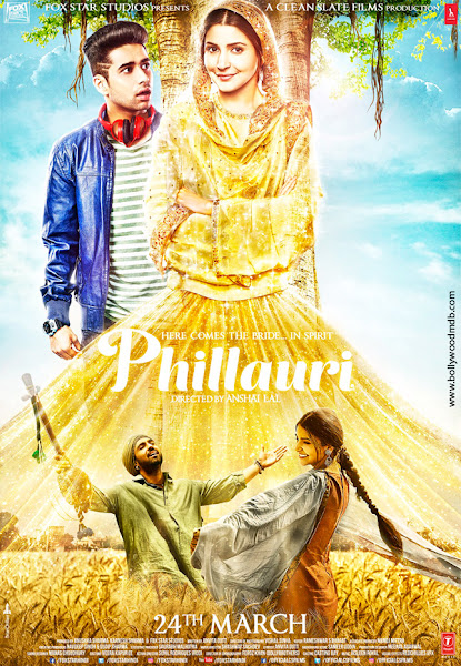 Poster of Phillauri 2017 Hindi 720p HDRip Full Movie Free Download