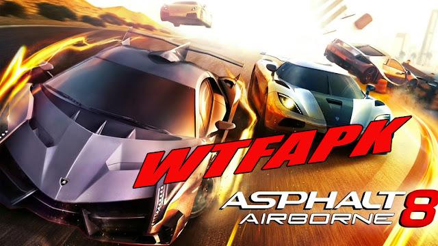 Asphalt 8 Airborne WTFAPK