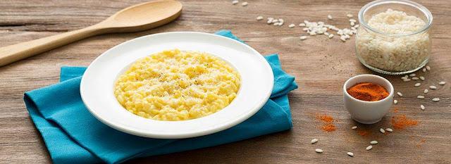 Risotto alla milanese – ricetta vegetariana senza glutine