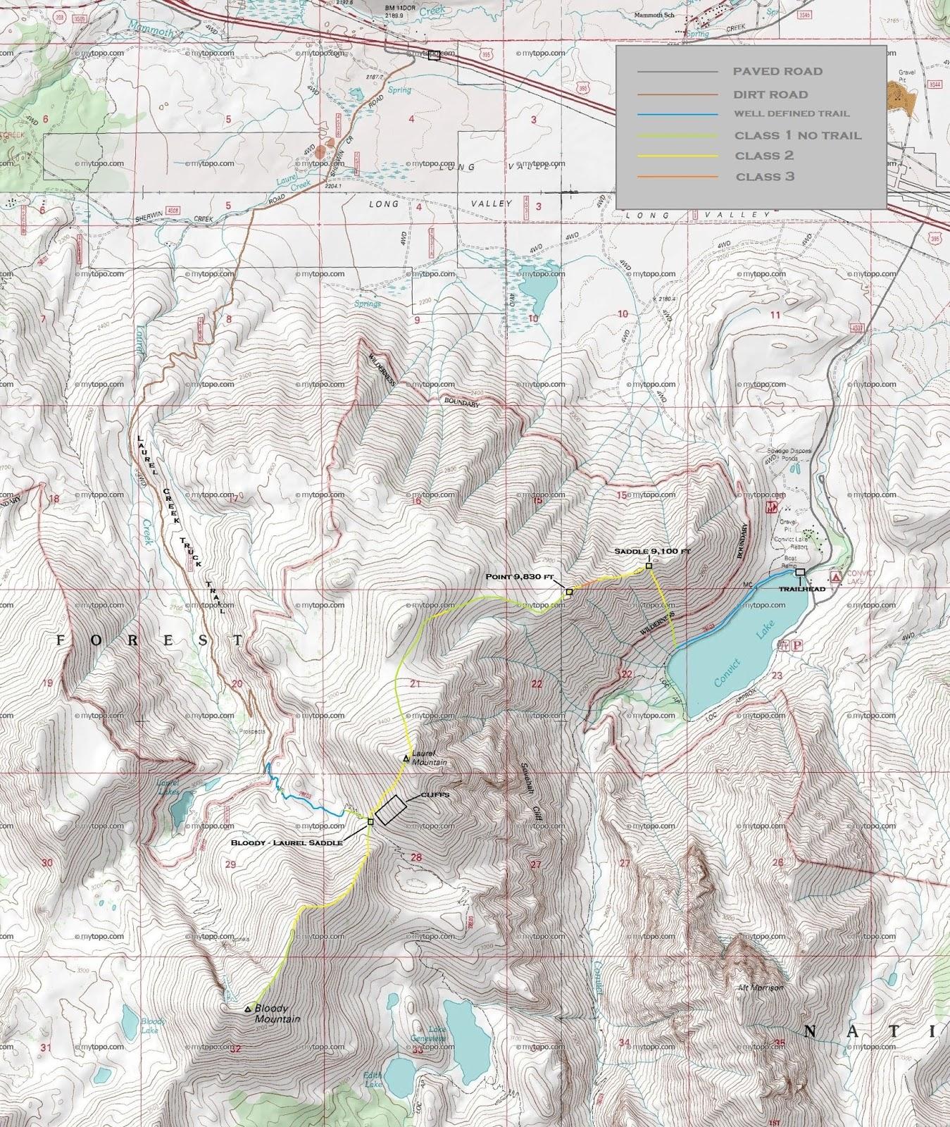 Peaks For Freaks Laurel Mountain Bloody Mountain
