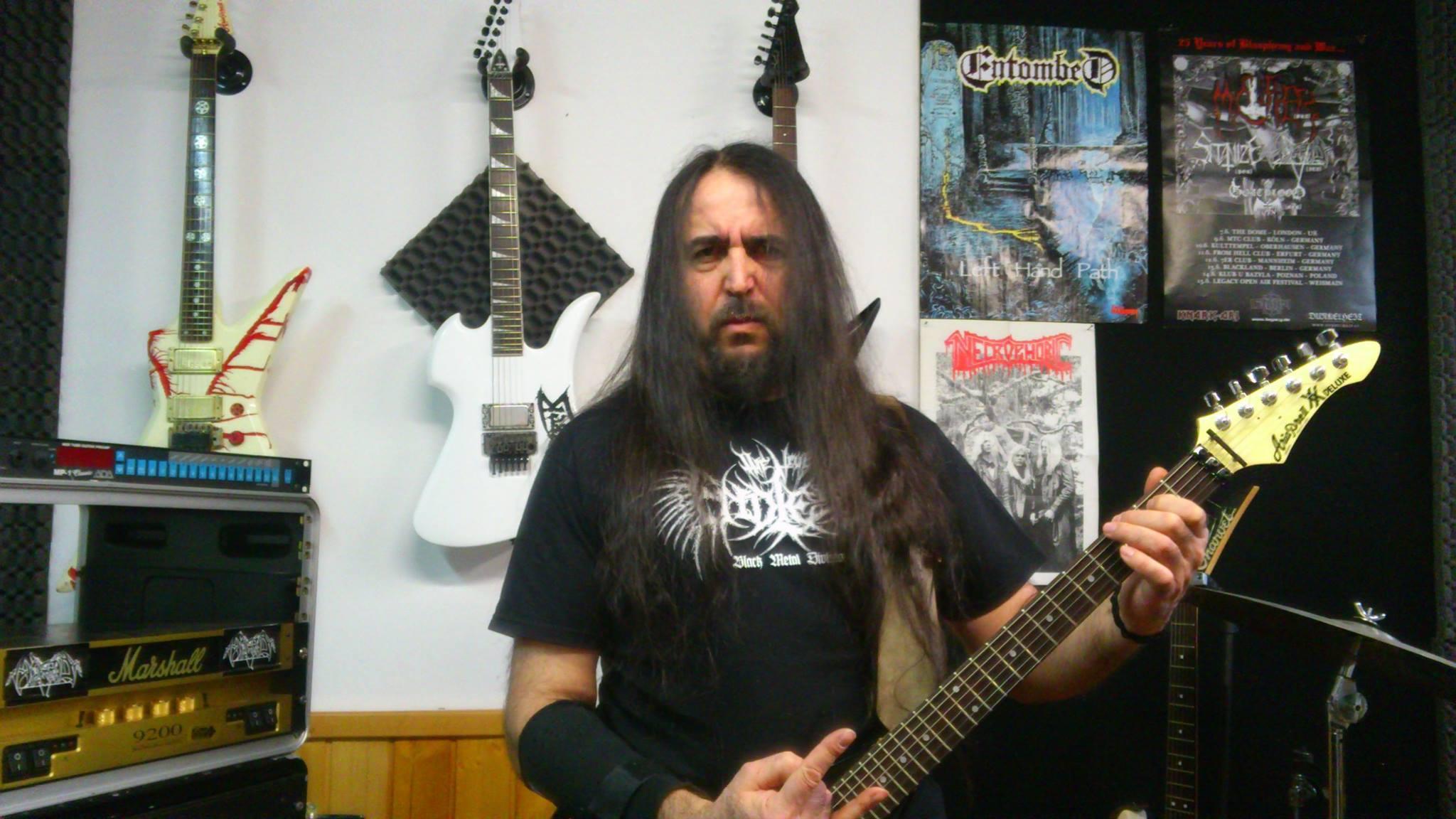 the old blood / old blood / christian montagna / horrid / david belfagor newmann / death metal / diy