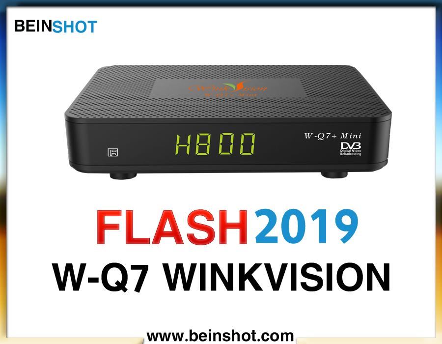 التحديث الرسمي لجهاز W-Q7 WINKVISION 2019
