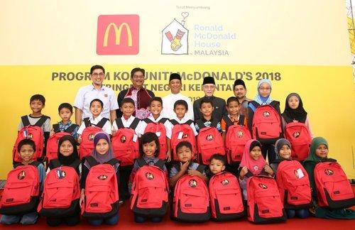 McDonald's Sumbang Setengah Juta di Program Komuniti Kelantan