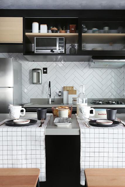 small-black-kitchen