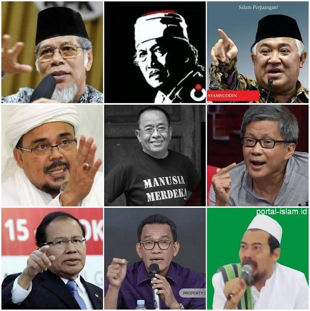 Kepada Sembilan Tokoh Oposisi, Rakyat Menaruh Harapan