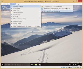كيف تستخدم ويندوز 10 على النظام الوهمى او الاسطوانة الافتراضية virtual machine
