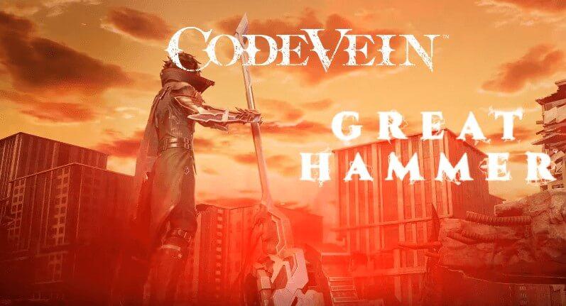 Code Vein - Great Hammer Weapon Trailer