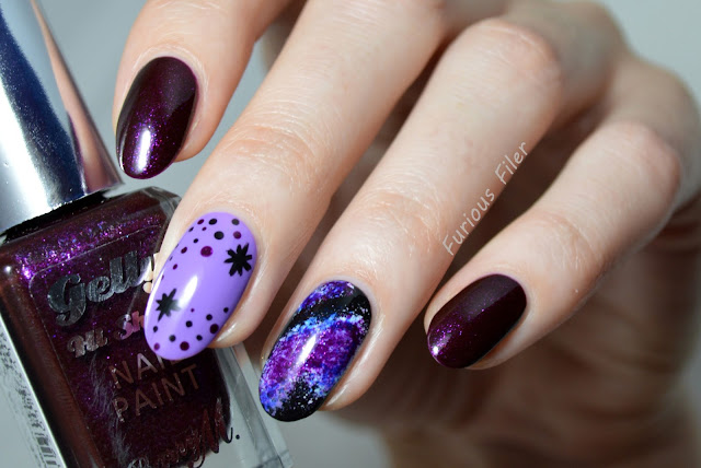 space galaxy sparkle barry m sparkling amethyst