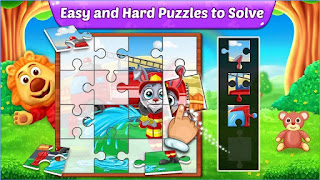 Puzzle Kids - Animals Shapes and Jigsaw Puzzles APK Share