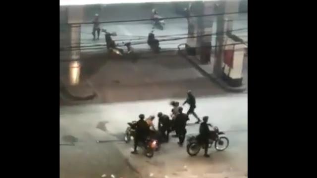 Viral Rekaman Video Diduga Pelajar Dihajar Bergantian di Pom Bensin Penjernihan