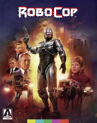 Arrow Video's Limited Edition RoboCop Blu-ray Cover