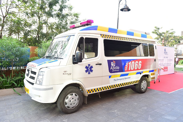 Launch of Apollo Emergency Response System 1066 - GPRS enabled advanced ambulance