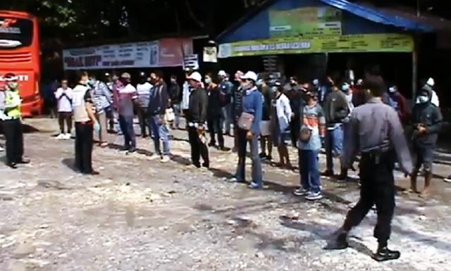Mengaku Sudah Lelah, Sopir Bus Angkut Pemudik ke Grobogan Kabur saat Hendak Diperiksa