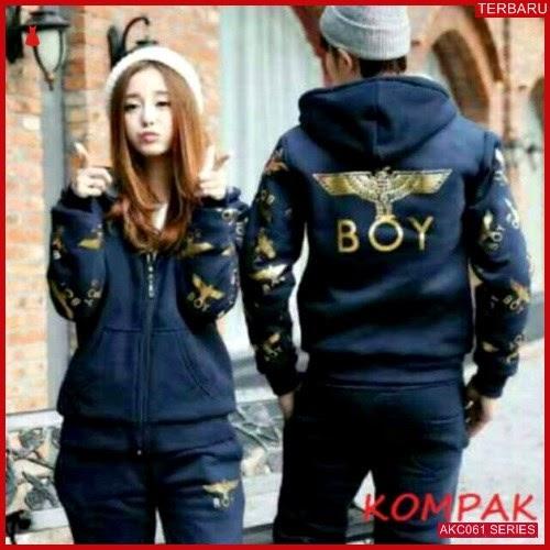 AKC061J46 Jaket Couple Pasangan Anak 061J46 Pasangan Boy BMGShop