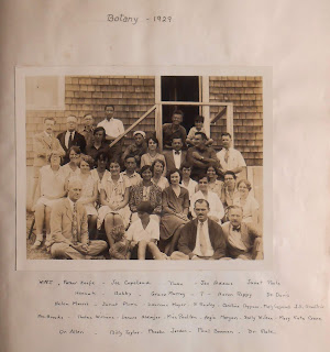 Botany class picture from Marine Biological Lab, 1929