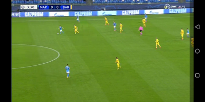 Stream Napoli vs Barcelona for free on your mobile phone