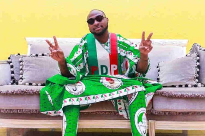 OsunDecide2018: Do not be deceived by APC's Sugarcoated tongue – Davido advises Osun people ahead of rerun