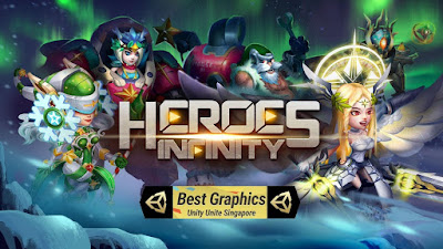 Download Game Heroes Infinity: God Warriors Mod (Infinite Money) Offline gilaandroid.com