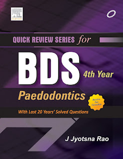 Quick Review Series for BDS 4th Year Paedodontics
