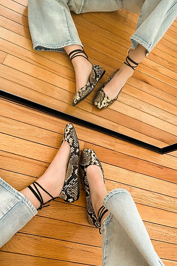 Free People Wrap Flats