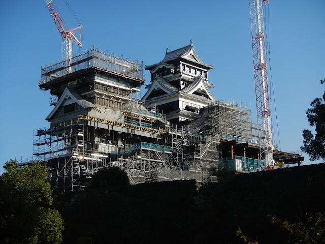 熊本城 修復中