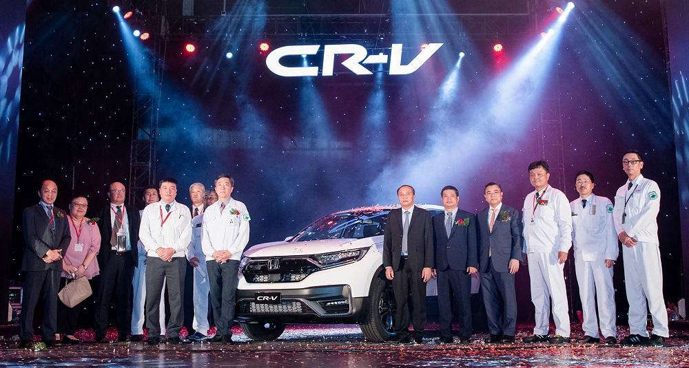 Honda Việt Nam xuất xưởng mẫu xe CR-V 2020