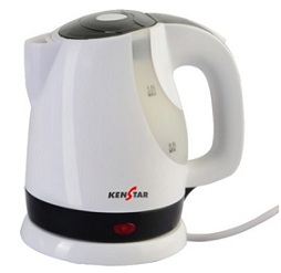 Kenstar KKB10C3P-DBH 1 L Electric Kettle (1300 Watt) worth Rs.1295 for Rs.645 Only @ Flipkart