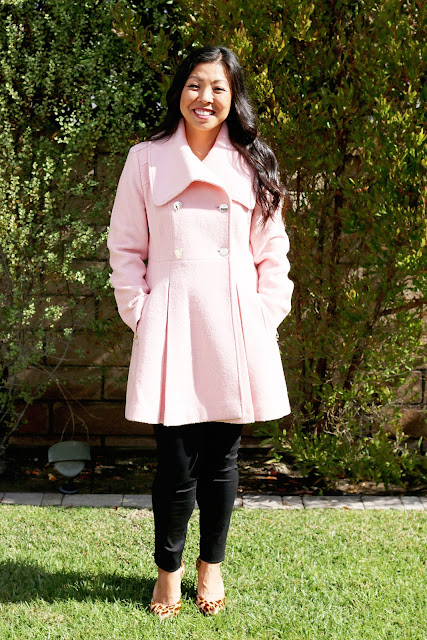 Outerwear Pink Coat