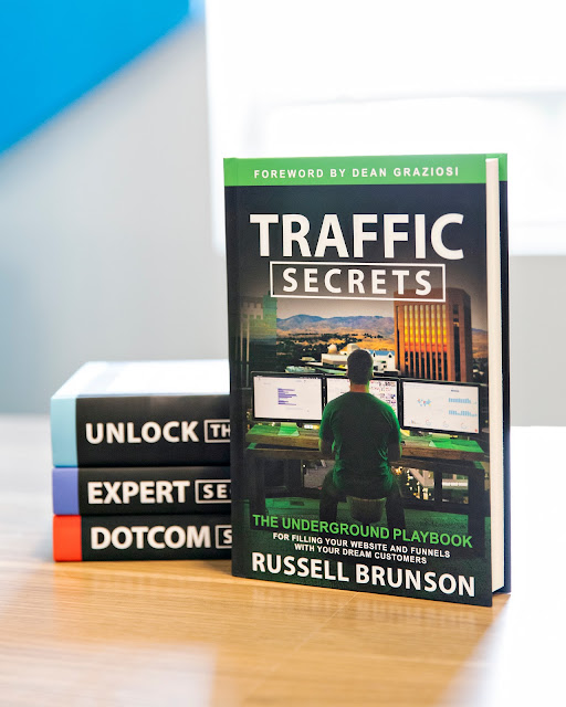Learning Website Traffic Secrets With Russell Brunson!