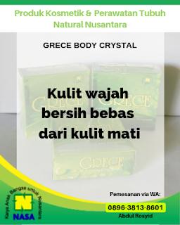 Sabun Grece Body Crystal Penghilang Bau Ketia 50gr