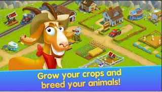Game Berkebun Terbaik Android Golden Farm: Happy Farming Day Apk