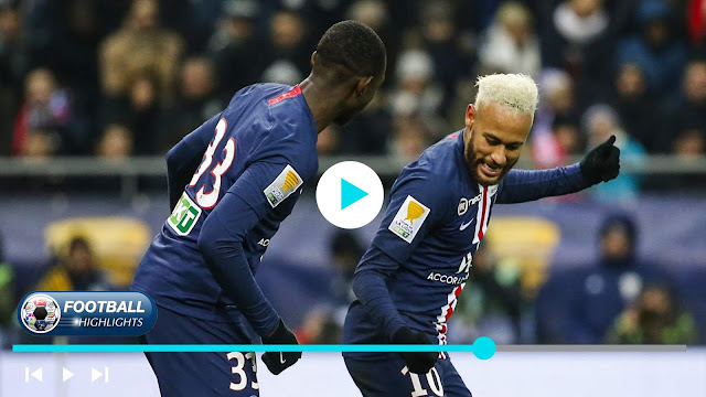 Reims vs Paris Saint Germain – Highlights