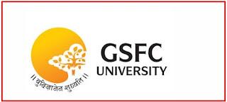 GSFC University Admission Officer Recruitment 2021