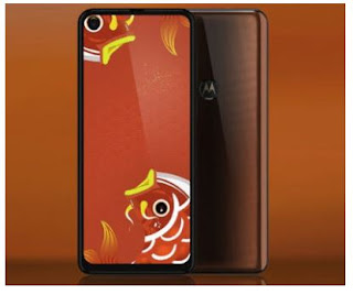 Smartphone Motorola P50 Memiliki Kamera Depan Di Layar 25 MP