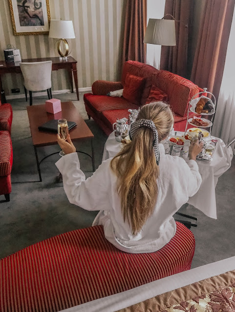 Hotel Dukes Palace Room Service Breakfast Review