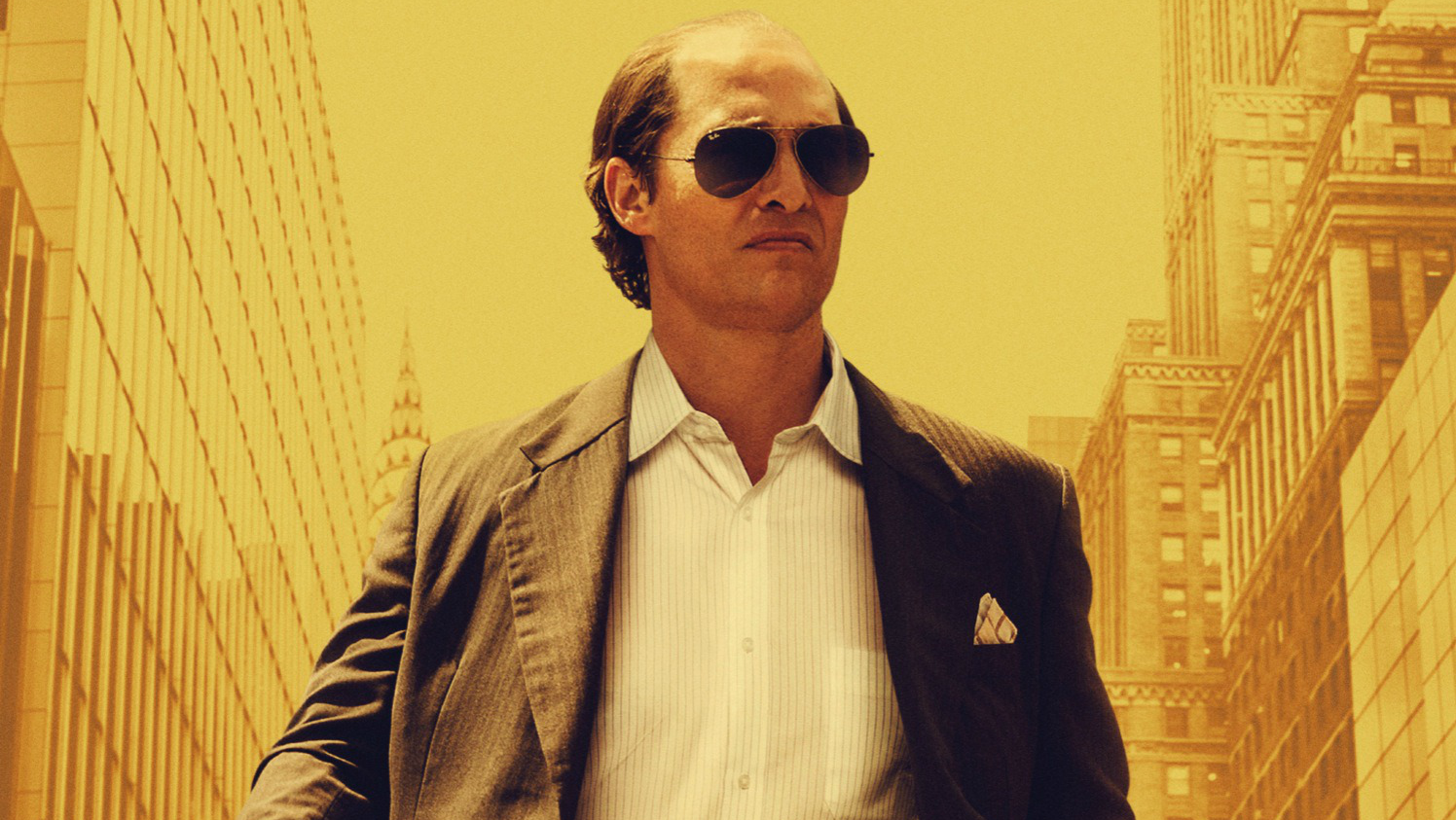 The movie poster for 'Gold' starring Matthew McConaughey
