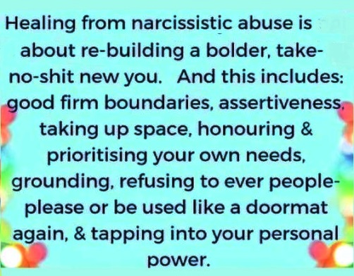 Healing from narcissistic abuse and tapping into your personal power #quote